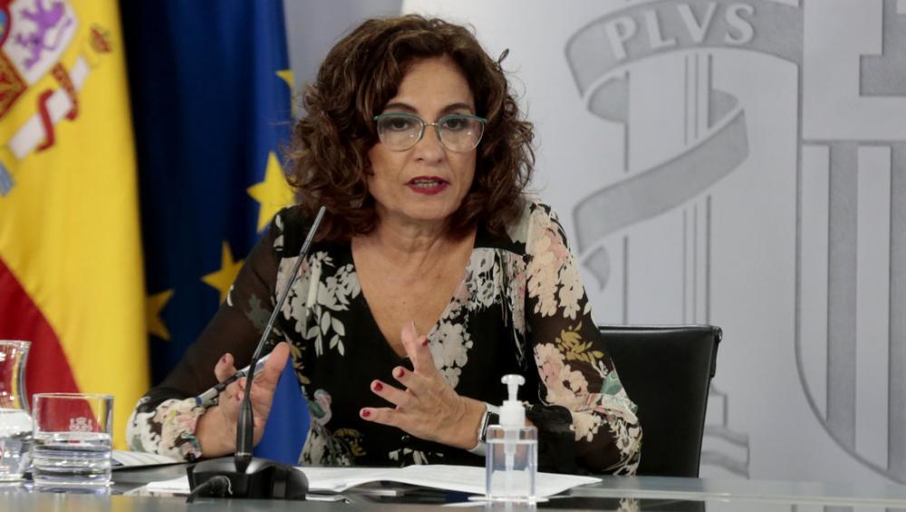 La portaveu del govern espanyol, María Jesús Montero, el passat dia 22 de setembre a la Moncloa