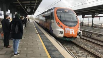 Un tren de Rodalies