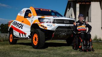 Isidre Esteve, nou pilot de Toyota per al Dakar