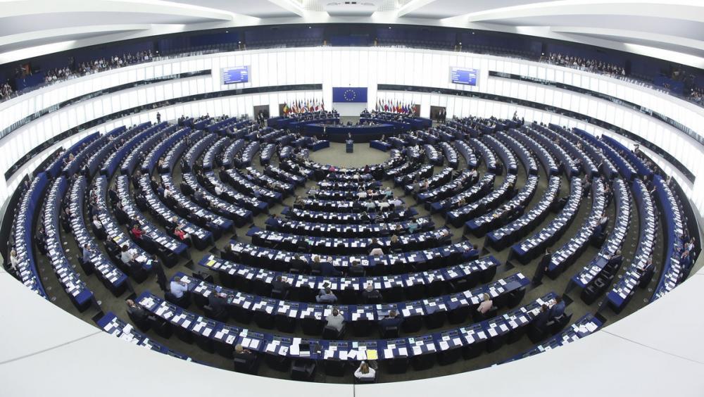 Una imatge de l'Eurocambra