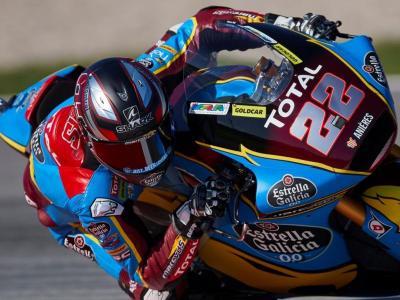 Sam Lowes en el circuit Barcelona-Catalunya