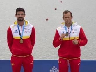 El podi amb Rodríguez i Martí