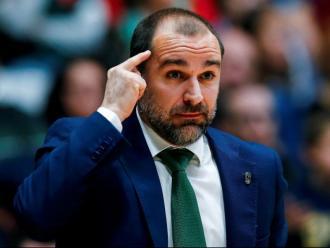Carles Duran , el tècnic de la Penya