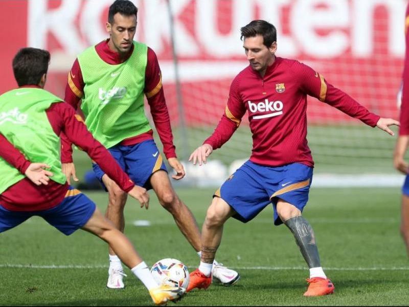 Messi i Sergio.