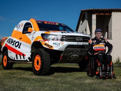 Isidre Esteve disputarà el Dakar 2021 amb un Toyota Hilux