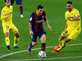 Messi en el partit de diumenge passat