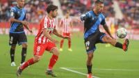 Antonio Luna va jugar el primer partit a segona A a Montilivi, fa un any