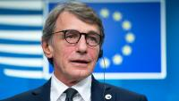 El president del Parlament Europeu, David Sassoli