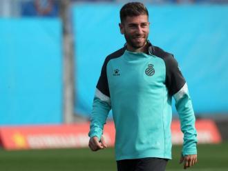Adrián Embarba és el lider natural de l'Espanyol i no defuig la seva responsabilitat.