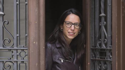 <b>Berta Batet,</b> fotografiada recentment a Barcelona