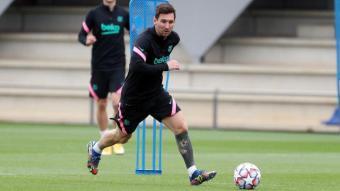 Leo Messi no marca des del dia del Vila-real