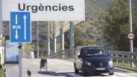 Indicació de les urgències d'un hospital