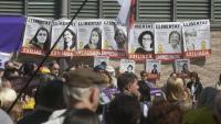Acte de suport a les dones exiliades, encausades i a la presó, el 2019