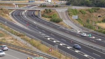 L'únic tram desdoblat de l'N-II, realitzat al nord de Girona, es va inaugurar el juliol del 2019
