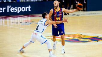 Calathes dirigeix el jocs blaugrana davant Span