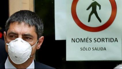 Josep Lluís Trapero s'enfrontava a una petició de deu anys de presó per part de la fiscalia