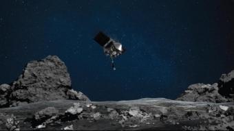 La NASA fa història després de recollir mostres per primer cop d'un asteroide