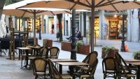 Un bar tancat en ple centre de Girona a causa de les restriccions