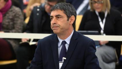 El major dels Mossos, Josep Lluís Trapero