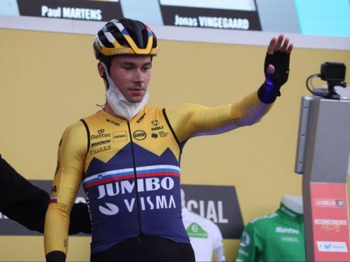 Roglic, primer líder de la Vuelta
