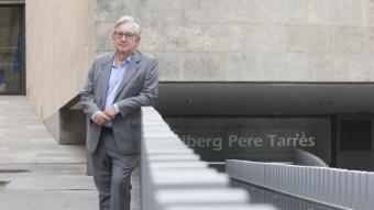 Josep Oriol Pujol, a la seu de la Fundació Pere Tarrés, a Barcelona