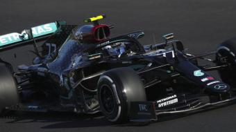Valtteri Bottas , el més ràpid en la primera jornada a l'autòdrom de l'Algarve