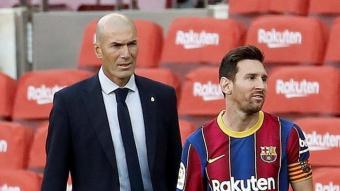 Zidane i Messi