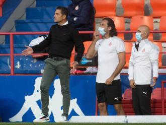 Francisco atent als seus jugadors, ahir a l'Anxo Carro