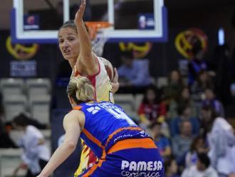 Laia Palau i Anna Gómez el 7 de març a Salamanca