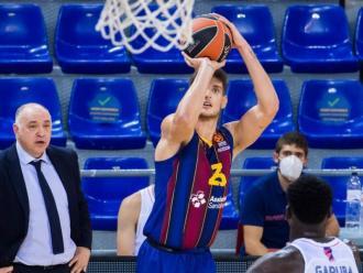 Sergi  Martínez va demostrar que pot ser un jugador per ajudar el Barça