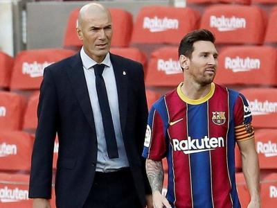 Zidane, rere Messi, en el clàssic de dissabte
