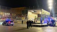 Guàrdia Urbana de Barcelona fent controls