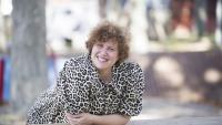 La dramaturga i directora Queralt Riera, dilluns passat, a Parets del Vallès