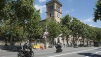 Vistes de la UB al centre de Barcelona