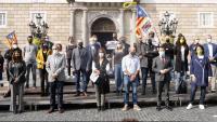 L'independentisme exigeix la llibertat pels detinguts en l'operació de la Guàrdia Civil