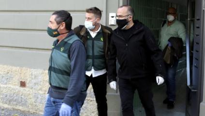 L'activista gironí Josep Campmajó, relacionat amb Vendrell, ahir