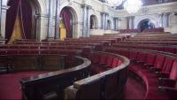 L'hemicicle del Parlament