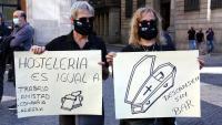 Des de fa 15 dies el sector de la restauració surt al carrer a protestar