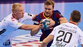 Pálmarsson , autor de cinc gols, continua en estat de gràcia