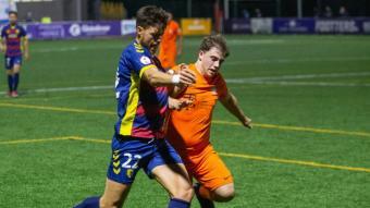 El Llagostera va jugar dimecres contra el Platges de Calvià en la copa Federació