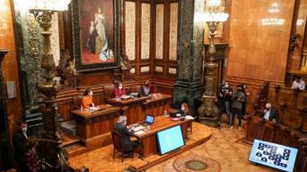 El ple de l'Ajuntament de Barcelona d'aquest divendres