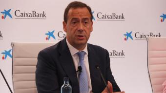 El delegat de CaixaBank, Gonzalo Gortàzar