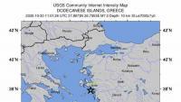 Un terratrèmol de magnitud 6,8 sacseja Grècia i Turquia