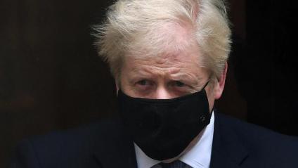El primer ministre britànic, Boris Johnson