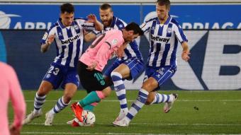 Messi contra el món