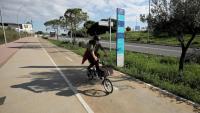 El carril bici que connecta Barcelona amb Esplugues és un dels trams analitzats en el baròmetre del RACC