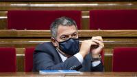 El conseller d'Interior, Miquel Sàmper, en una imatge al Parlament