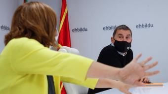 El dirigent de Bildu Arnaldo Otegi la setmana passada