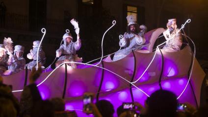 La calvalcada de Reis de Barcelona d'aquest gener passat