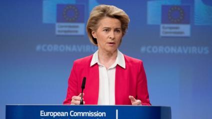 La presidenta de l'executiu europeu, Úrsula von der Leyen
